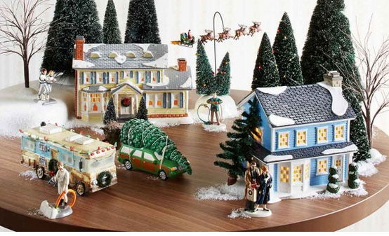 Department 56 - National Lampoon Series, Hallmark Awesome Gifts