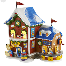 Fisher Price Pull Toy Factory, North Pole | Hallmark Awesome Gifts