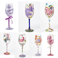 Lolita Wine Glasses, Hallmark Awesome Gifts