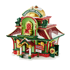 Santa's Chair Works, North Pole | Hallmark Awesome Gifts