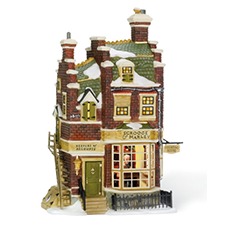 Scrooge & Marley's House, Dickens' Village | Hallmark Awesome Gifts
