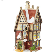 The Siz Geese Bedding & Down, Dickens' Village | Hallmark Awesome Gifts