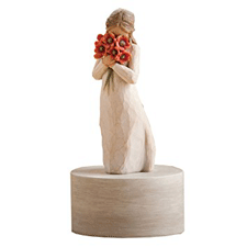 Willow Angel Figurine - Love/Milestones - Surrounded By Love Musical  | Hallmark Awesome Gifts