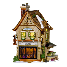 Swifts Stringed Instruments, Dickens' Village | Hallmark Awesome Gifts