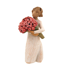 Willow Angel Figurine - Love/Milestones - Abundance | Hallmark Awesome Gifts