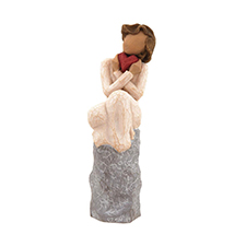 Willow Angel Figurine - Love/Milestones - Always | Hallmark Awesome Gifts