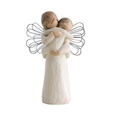 Willow Angel Figurine - Sympathy/Remembrance - Angel's Embrace | Hallmark Awesome Gifts