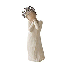 Willow Angel Figurine - Love/Milestones - Angel Love | Hallmark Awesome Gifts