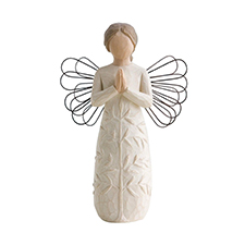 Willow Angel Figurine - Sympathy/Remembrance - Angel a Tree a Prayer | Hallmark Awesome Gifts