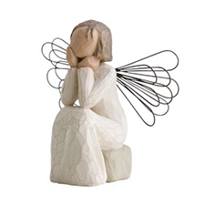 Willow Angel Figurine - Hope/Healing - Angel of Caring | Hallmark Awesome Gifts