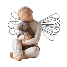Willow Angel Figurine - Sympathy/Remembrance - Angel of Comfort | Hallmark Awesome Gifts