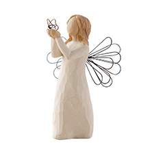 Willow Angel Figurine - Teacher/Grad - Angel of Freedom | Hallmark Awesome Gifts
