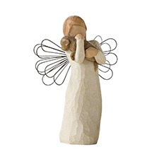 Willow Angel Figurine - Frienship - Angel of Friendship | Hallmark Awesome Gifts
