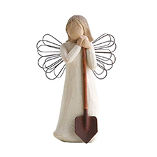 Willow Angel Figurine - Frienship - Angel of the Garden | Hallmark Awesome Gifts