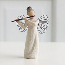 Willow Angel Figurine - Frienship - Angel of Harmony | Hallmark Awesome Gifts
