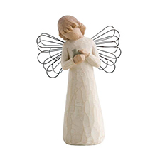 Willow Angel Figurine - Hope/Healing - Angel of Healing | Hallmark Awesome Gifts