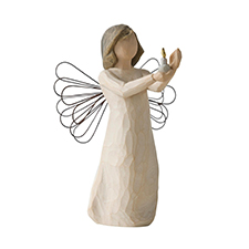 Willow Angel Figurine - Hope/Healing - Angel of Hope | Hallmark Awesome Gifts