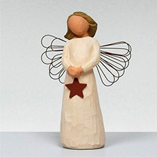 Willow Angel Figurine - Hope/Healing - Angel of Light | Hallmark Awesome Gifts