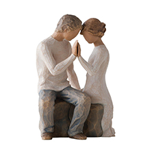 Willow Angel Figurine - Love/Milestones - Around You | Hallmark Awesome Gifts
