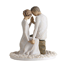 Willow Angel Figurine - Love/Milestones - Around You Cake Topper | Hallmark Awesome Gifts