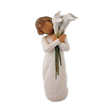 Willow Angel Figurine - Hope/Healing - Beautiful Wishes | Hallmark Awesome Gifts