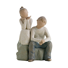 Willow Angel Figurine - Family - Brother & Sister | Hallmark Awesome Gifts