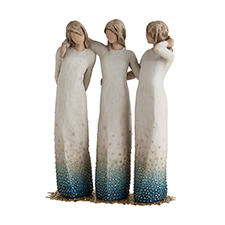 Willow Angel Figurine - Family - By My Side | Hallmark Awesome Gifts