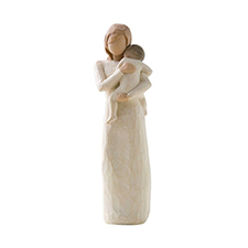 Willow Angel Figurine - Family - Child of My Heart | Hallmark Awesome Gifts