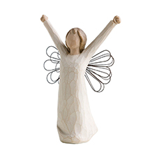 Willow Angel Figurine - Frienship - Courage | Hallmark Awesome Gifts