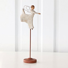 Willow Angel Figurine - Love/Milestones - Dance of Life | Hallmark Awesome Gifts