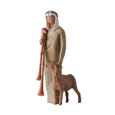 Willow Angel Figurine - Holiday - Zampognaro | Hallmark Awesome Gifts