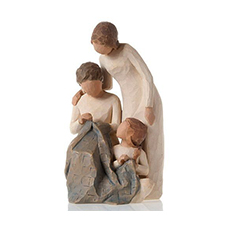 Willow Angel Figurine - Family - Generations | Hallmark Awesome Gifts
