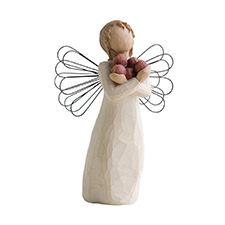 Willow Angel Figurine - Frienship - Good Health | Hallmark Awesome Gifts