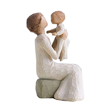 Willow Angel Figurine - Family - Grandmother with Child | Hallmark Awesome Gifts