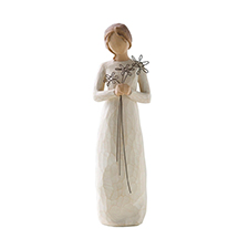 Willow Angel Figurine - Thank You/Hospitality - Grateful | Hallmark Awesome Gifts