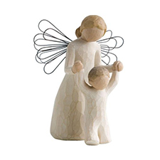Willow Angel Figurine - Sympathy/Remembrance - Guardian Angel | Hallmark Awesome Gifts