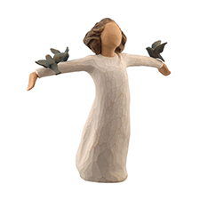 Willow Angel Figurine - Frienship - Happiness | Hallmark Awesome Gifts