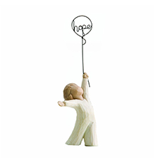 Willow Angel Figurine - Hope/Healing - Hope | Hallmark Awesome Gifts