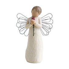 Willow Angel Figurine - Love/Milestones - Loving Angel | Hallmark Awesome Gifts