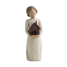 Willow Angel Figurine - Thank You/Hospitality -  Mi Casa | Hallmark Awesome Gifts