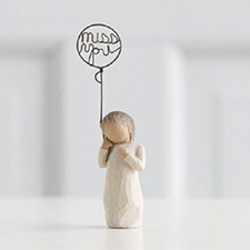 Willow Angel Figurine - Sympathy/Remembrance - Miss You | Hallmark Awesome Gifts