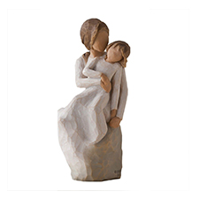 Willow Angel Figurine - Family - Mother & Daughter | Hallmark Awesome Gifts