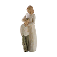 Willow Angel Figurine - Family - Mother & Son | Hallmark Awesome Gifts