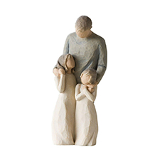 Willow Angel Figurine - Family - My Girls | Hallmark Awesome Gifts