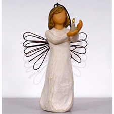 Willow Angel - Ornament - Angel of Hope | Hallmark Awesome Gifts