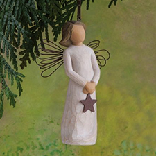 Willow Angel - Ornament - Angel of Light | Hallmark Awesome Gifts