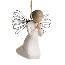Willow Angel - Ornament - Angel of Prayer | Hallmark Awesome Gifts