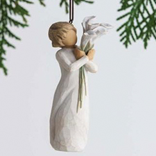 Willow Angel - Ornament - Beautiful Wishes | Hallmark Awesome Gifts