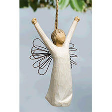 Willow Angel - Ornament - Courage | Hallmark Awesome Gifts