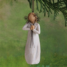 Willow Angel - Ornament - Friendship | Hallmark Awesome Gifts